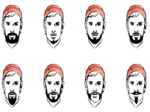 Подобрать бороду по форме лица