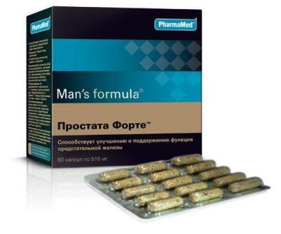Менс формула простата форте состав