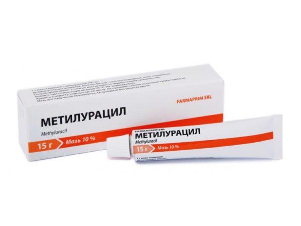 Мазь метилурацил для геморроя