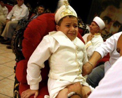 Молитва при обрезании у мусульман